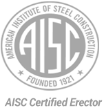 MAS is a AISC Certified Erector